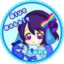 ルナ【୨୧BLUEᕱ⑅︎ᕱRabbit୨୧】のユーザーアイコン