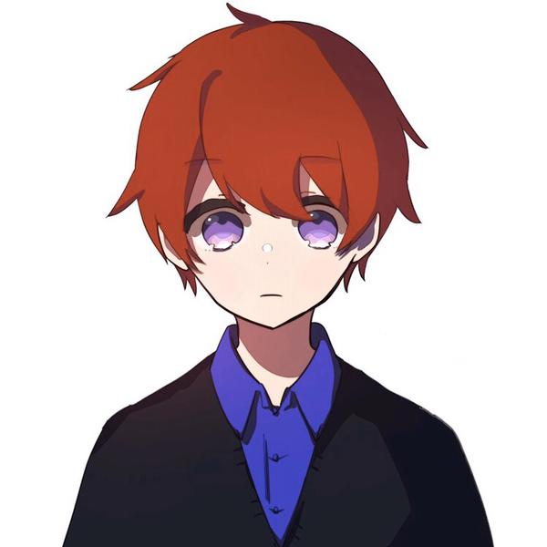 赤髪の学生のユーザーアイコン