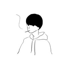 吸のユーザーアイコン