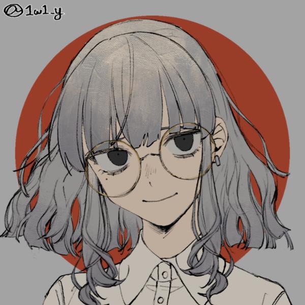 眼鏡のユーザーアイコン