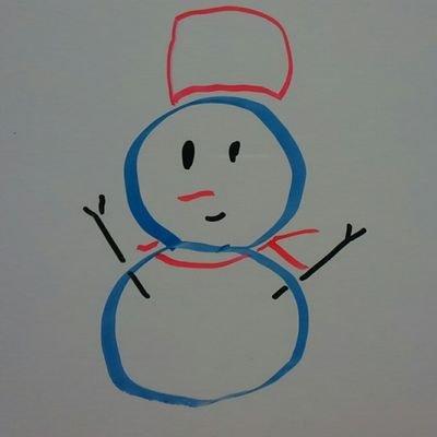 全力全開の雪だるまのユーザーアイコン