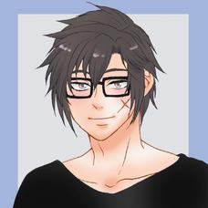 メガネかけたスフレです。@「夜に駆ける」練習中のユーザーアイコン