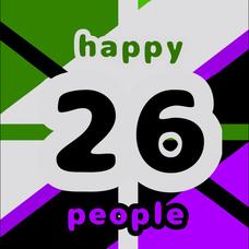 *Happy26people*のユーザーアイコン