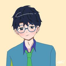 あさ【shi】@青服の人。のユーザーアイコン