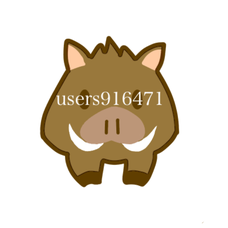いのししのユーザーアイコン