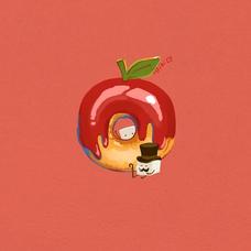 紅玉(「🍎・ω・)「🍎低浮上気味のユーザーアイコン