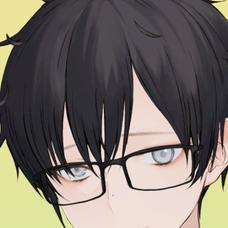 鏡音 眼鏡のユーザーアイコン