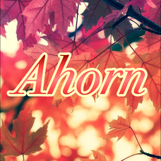 実力派ユニット『Ahorn』のユーザーアイコン