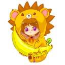 めいきゃん(に改名するバナナのユーザーアイコン