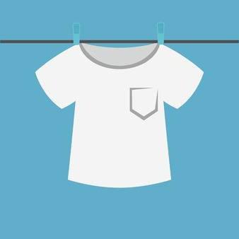 濡れたTシャツのユーザーアイコン