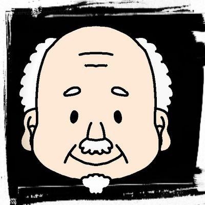 エイムがおじいちゃんのユーザーアイコン