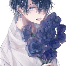 深藍のユーザーアイコン