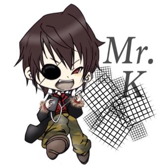 Mr.K/声真似のユーザーアイコン
